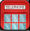 иконки phonebox, телефонная будка, телефон, лондон,