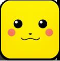 иконка pikachu, пикачу,