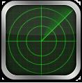 иконки radar, радар,