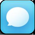 иконки  sms, чат, общение,