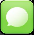 иконка sms, чат,