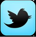 иконка twitter, твиттер,