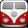 иконка vw, микроавтобус,