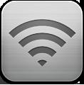 иконка wifi, сеть, уровень сети,