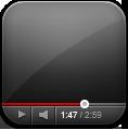 иконки youtube, ютуб, проигрыватель,