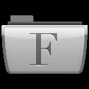 иконки  fonts, шрифты, шрифт, папка,