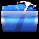 иконки папка, разработчик, разработка, инструменты, молоток, developer,