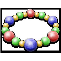 иконки браслет, бусы, bracelet,