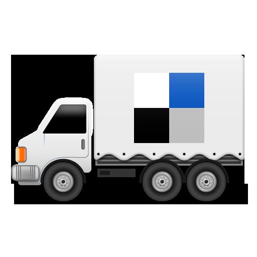 иконки delicious, грузовик, машина,