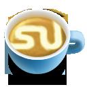 иконка stumbleupon, кофе, латте,