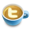 иконки кофе, латте, latte, twitter, твиттер,