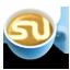 иконки stumbleupon, кофе, латте,