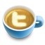 иконка кофе, латте, latte, twitter, твиттер,