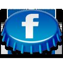 иконки facebook, фейсбук, пробка,
