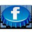 иконка facebook, фейсбук, пробка,