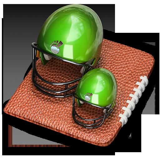 иконки спорт, шлем, американский футбол,