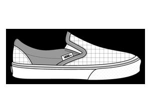 иконки обувь, vans, кеды,