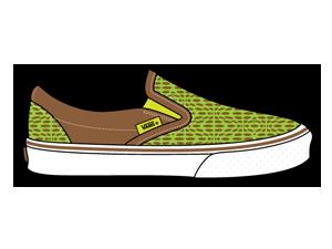 иконка обувь, vans,