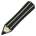 иконка карандаш, crayon,