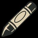 иконка мелок, crayon,