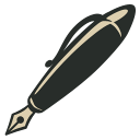 иконки  ink pen, ручка,