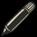 иконки маркер, фломастер, marker,