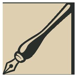 иконка чернила, ручка, ink pen,