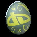 иконка deviantart, яйцо,