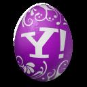 иконки  yahoo, яйцо,