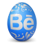 иконки behance, яйцо,