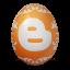 иконка blogger, яйцо,