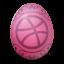 иконки dribbble, яйцо,