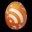 иконки rss, яйцо,