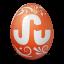 иконка stumbleupon, яйцо,