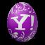 иконка yahoo, яйцо,