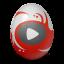 иконка youtube, ютуб, яйцо,