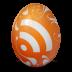 иконка rss, яйцо,
