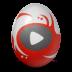иконки youtube, ютуб, яйцо,