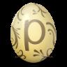 иконки posterous, яйцо,