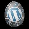 иконки wordpress, вордпресс, яйцо,