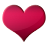 иконки hearts, сердце, червы,