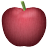 иконка яблоко, apple,
