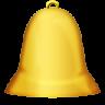 иконки bell, звонок, колокольчик,