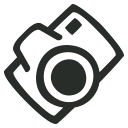 иконка camera, фотоаппарат,