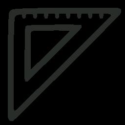 иконки треугольник, линейка, triangle,