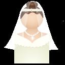 иконка невеста, женщина, девушка, bride,