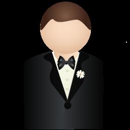 иконка жених, мужчина, человек, groom,