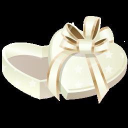 иконки подарок, сердце, present,