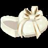 иконка подарок, сердце, present,