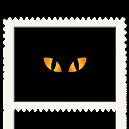 иконки глаза, черное, хэллоуин, black, cat eyes,